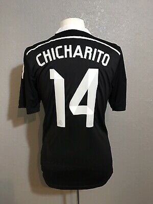 40c96a5f136 Real Madrid Player Issue Adizero Chicharito Mexico Shirt Match Unworn Jersey
