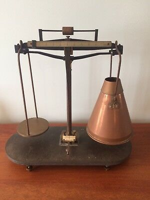 Vintage Scale Henry Troemner Apothecary Scale Philadelphia