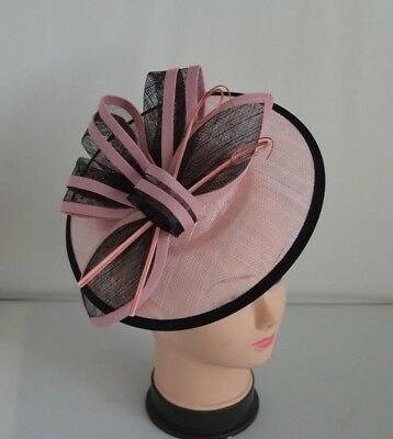 New Pretty 25cm Headband&Clip Hat Fascinator Weddings/LadiesDay Race Royal Ascot