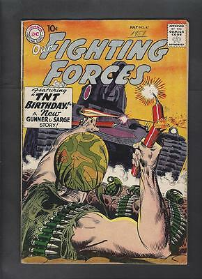 Our Fighting Forces 47 VG+ 4.5 3rd Gunner and Sarge Hi-Res Scans