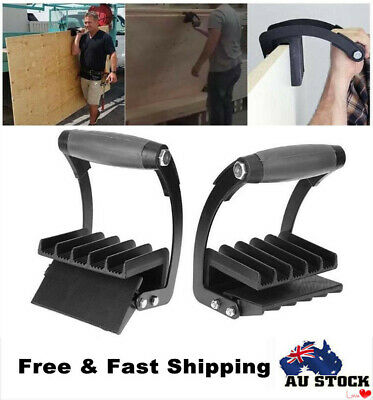 Panel Carrier Gripper Handle Carry Drywall Plywood Sheet Lifting Carrying System