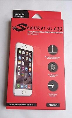 Samurai Glass IPhone 7 Strengthened Glass Screen Protector Shatter Resistant