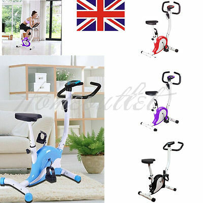 Gym Fitness Workout Cardio Adjustable Trainer Exercise Bike Bicycle Resistance