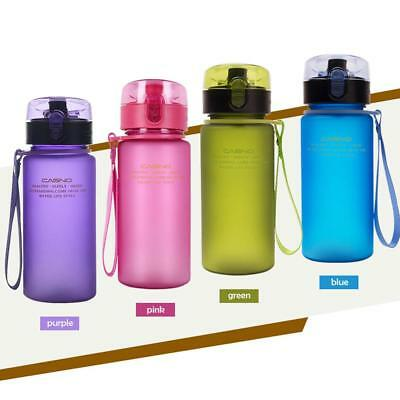 BPA Free Leak Proof Sports Water Bottle Eco Friendly Tour Hiking Drinking Bottle