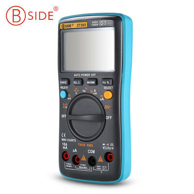 BSIDE ZT301/ZT302 Portable Handheld Digital Multimeter Machine Large LCD Display