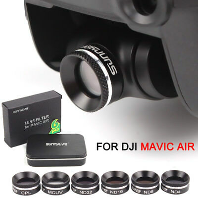 Multi-functional Lens Filter MCUV CPL ND4/8/16 ND32 Accessory For DJI MAVIC AIR