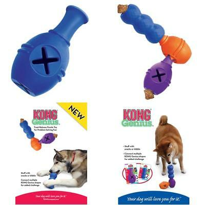 Kong Genius Leo Treat Dispensing Dog Puzzle Toy Large (Colors Vary)