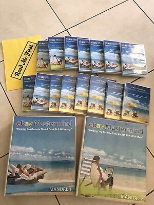 Ebay Easy Home Business - videos, worksheet and 2 x informative folders - VGC