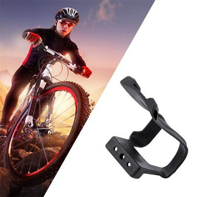 Strapless Mini Toe Clips Pair of Black Resin Bicycle ToeClips New XLC Bike