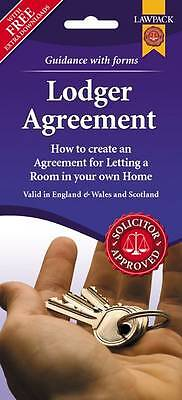 Lodger Agreement Form Pack England, Wales and Scotland PS91