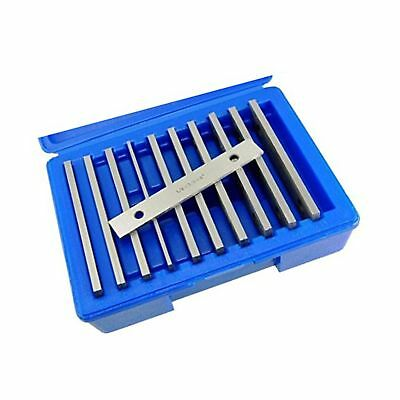"Machinist's Thin Parallel Bar Set - 10 Pair 1/8"" X 6"""