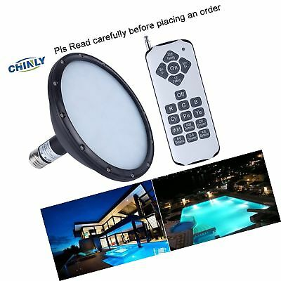 CHINLY 120V 18W RGB Color Changing Replacement Swimming LED Pool Lights Bulb ...