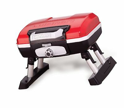 Cuisinart Cgg 180t Petit Gourmet Portable Tabletop Gas Grill Red