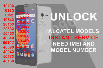 😍 Alcatel one touch pixi unlock code | How to Unlock Alcatel One