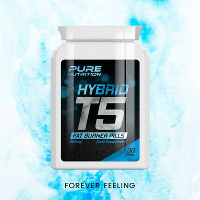 Pure Nutrition T5 Hybrid Fat Burner Pills – Extreme Weight-Loss Pill Slim
