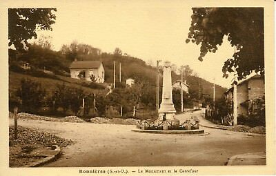 CPA -Carte postale - FRANCE - BONNIERES - Son Monument (iv 246)