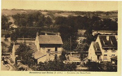 CPA -Carte postale - FRANCE - BONNIERES - Panorama des Deux Ponts (iv 253)