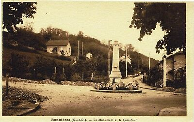 CPA -Carte postale - FRANCE - BONNIERES - Son Monument (iv 255)