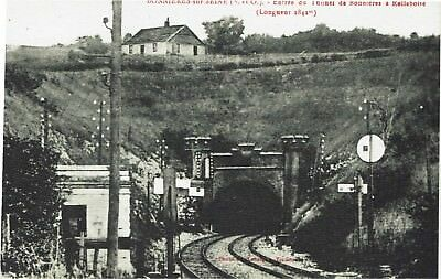 CPA -Carte postale - FRANCE - BONNIERES -  Tunnel de Bonnières (iv 259)