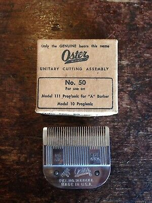 VINTAGE OSTER HAIR CLIPPER BLADE- no. 50 Size 000