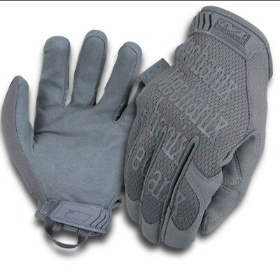 Handschuhe Mechanix Original WolfGrey tactical Militär Schießsport MG 88