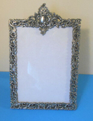 Lenox ornate Fine Pewter Picture Frame Kirk Stieff Collection 5x7 pic area