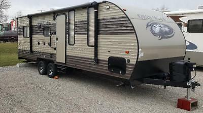 2018 Forest River 22RR Toy Hauler w/ hitch and camera