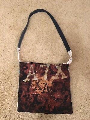 Avenged Sevenfold Purse A7X One Of Kind Patchwork Bag From Concert Tour T Shirt