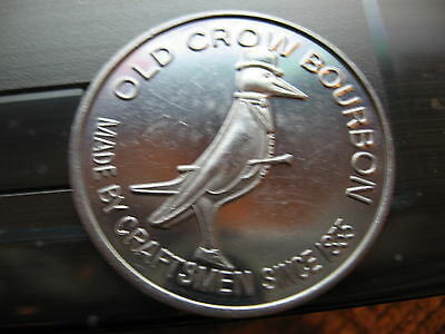 old crow bourbon 1971-72 Mardi Gras Doubloon Coin new orleans