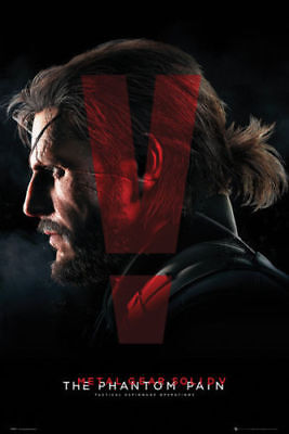 Metal Gear Solid V Cover Gaming Maxi Poster Print 61x91.5cm | 24x36 inches