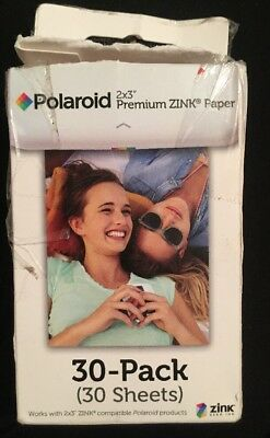 Polaroid 2x3 inch Premium ZINK Photo Paper 20 Sheets Box Opened but Sealed Packs