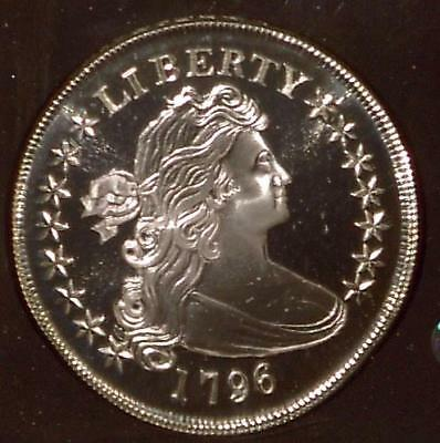 1796 Silver Draped Bust Dollar | Gallery Mint Museum| Proof  (MG1831)