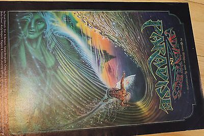 ADVENTURES IN PARADISE - Op Scott Dittrich 11x18in. O.G. AUS 1982 Surfing Poster