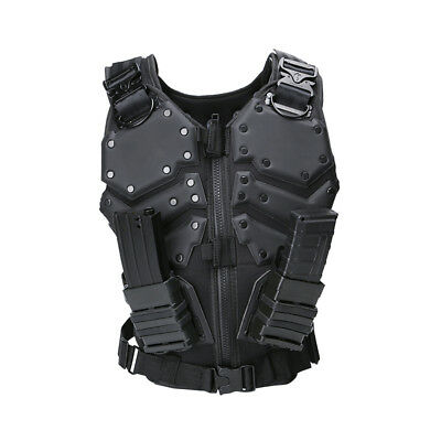 Tactical Vest Body Armor Outdoor Paintball Training CS Protection Equipment