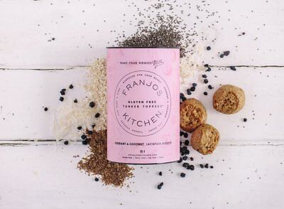 Franjos Kitchen GLUTEN FREE Lactation Cookies Biscuits Currant & coconut