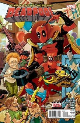 Marvel Comics Deadpool #2 Vol. 5 2016 NM / NM+ First Printing