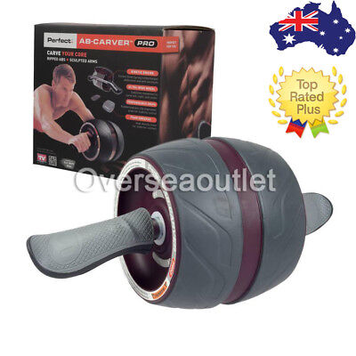 Fitness Ab Pro Perfect Carver Workout Abdominal Exercise Roller Exerciser Gym