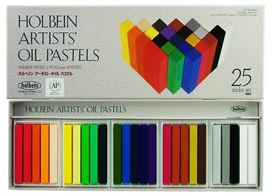 Holbein Artists' Oil Pastels - 25 Stick Boxed Set