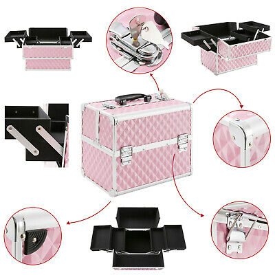 Cosmeticakoffer Beauty Case Multikoffer Pink
