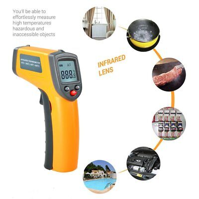 Laser LCD Digital IR Infrared Thermometer Temperature Meter Non Contact Sensor@A