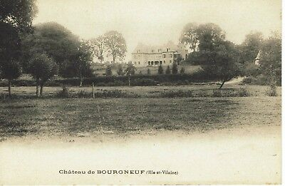 CPA - Carte postale -France - Bourgneuf - son Château (iv 287)