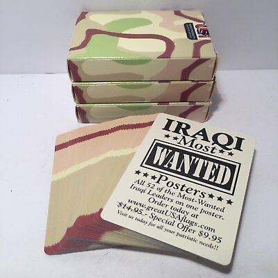 Most-wanted Iraqi playing cards | Military Wiki | FANDOM ...