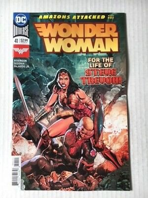 DC Comics: Wonder Woman #41 (2018) - BN - Bagged and Boarded