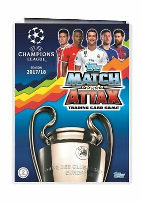 Topps Match Attax Champions League 2018 Full Binder