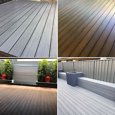FreshDeck Composite Decking Solid Boards Free Stainless Steel Clips And Screws