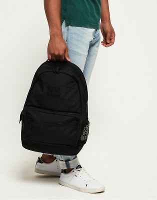 Superdry Moncheater Backpack in Black