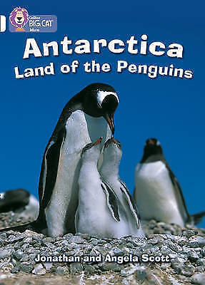 Antarctica: Land of the Penguins: Band 10/White-9780007186402-H010
