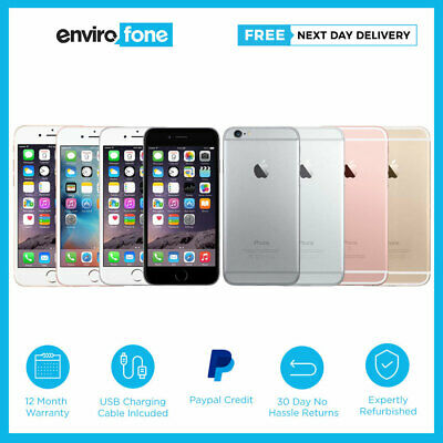 Apple iPhone 6S 16GB 32GB 64GB 128GB SIM Free Unlocked Smartphone