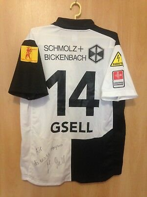 Fc Wil 1990 Switzerland Match Worn Shirt Jersey Trikot Signed Markus Gsell #14