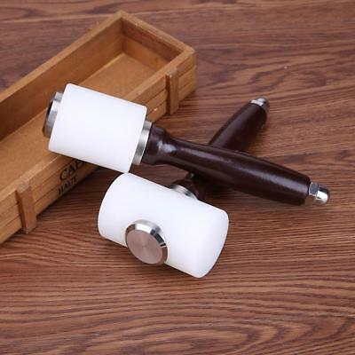 Leather Carving Hammer DIY Craft Cowhide Punch Cutting Nylon Hammer Hand Tool